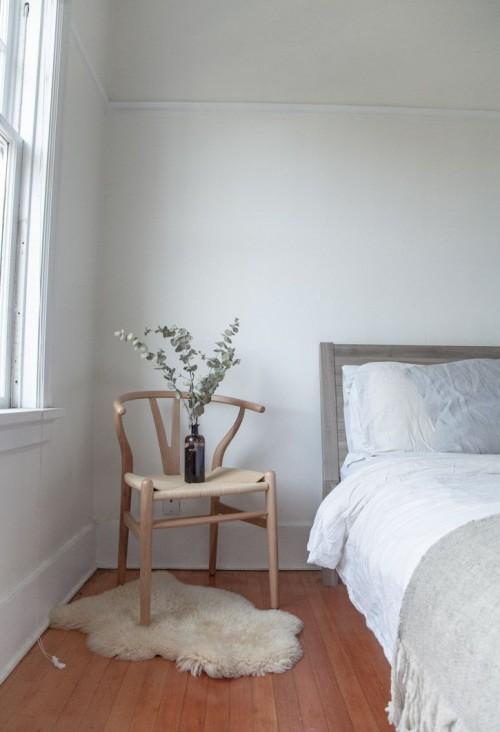 bedroom, calm, mindful, interior design, home
