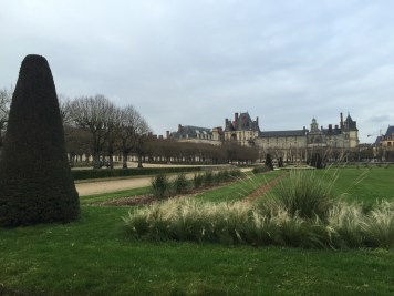 View of the Chateau from the gardens