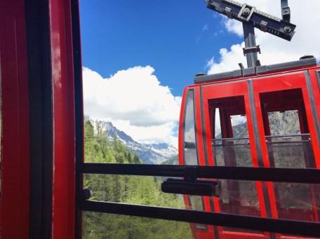 Montenvers Mer de Glace gondola