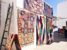 rugs for sale in the medina