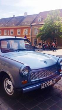 Vintage car I passed walking around Buda
