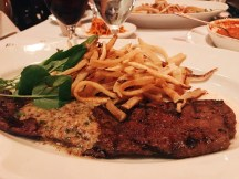 Steak Frites at Mon Ami Gabi!