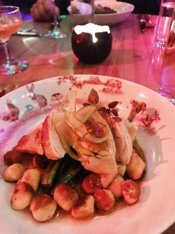 Amazing roast chicken with gnocchi!