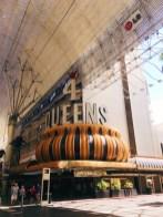 Vintage casinos at Fremont Street.