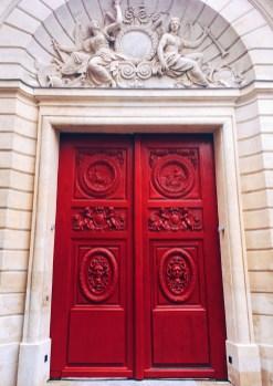 Doorway in Le Marais