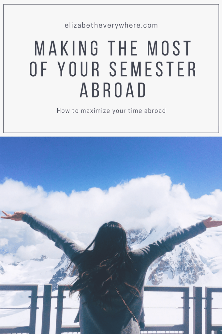 Making the most of your semester abroad