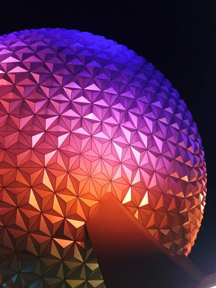 Epcot New Year's Eve