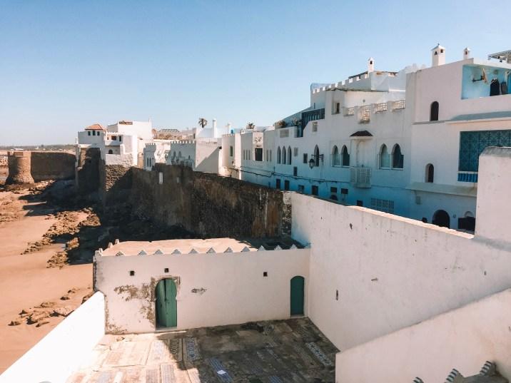 The medina on the shore