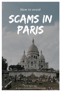 Avoiding tourist scams in Paris - you need to know these tips for avoiding scams before you go!