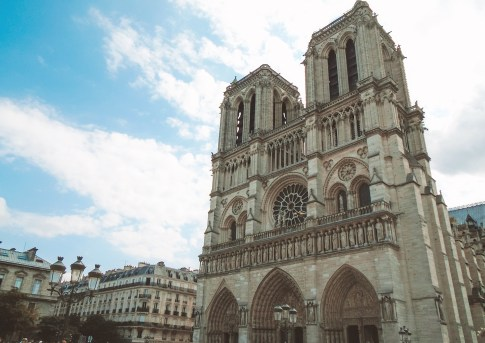 Notre Dame (in the 4th Arrondissement)