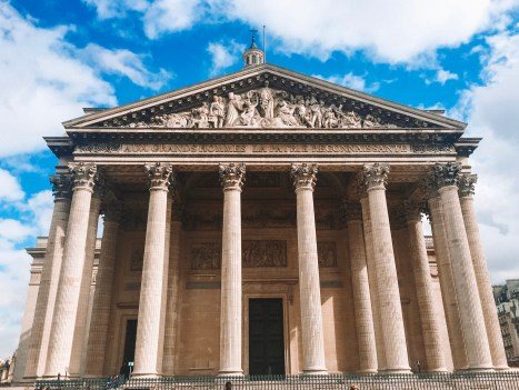 Pantheon in the Latin Quarter