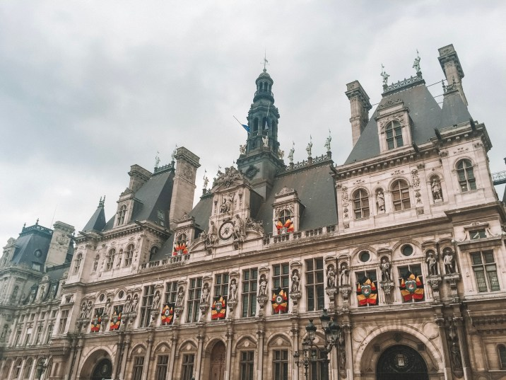 Hotel de Ville in Le Marais