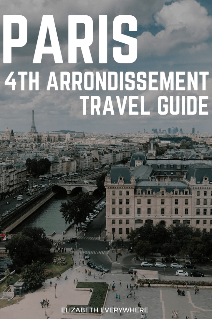 Paris Guide 4th Arrondissement Le Marais