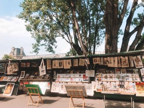 Winter in Paris - Seine Stall