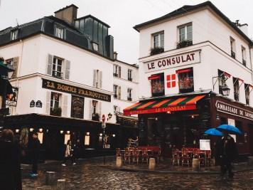 Montmartre in the 18th Arrondissement