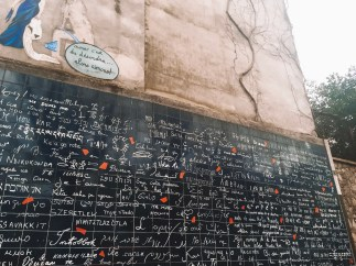 Love Wall in Montmartre