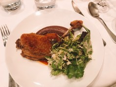 Best food in Paris- Main Course at Au Bon Accueil