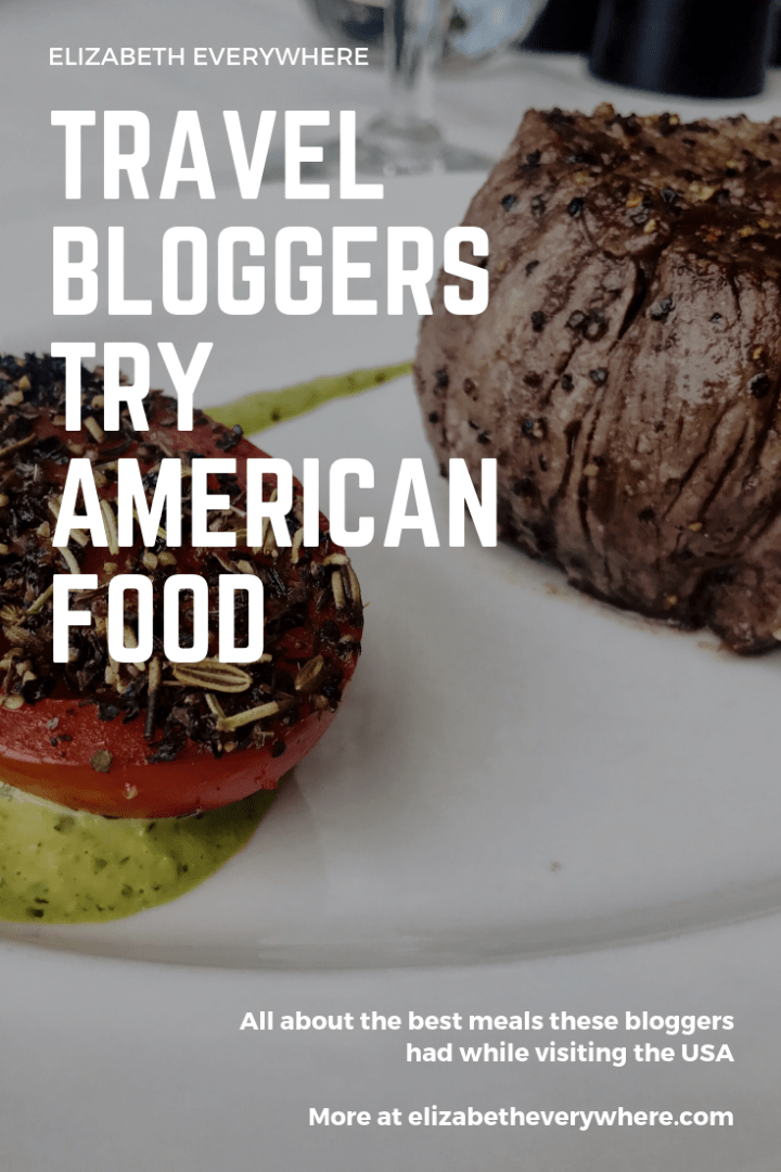 Travel Bloggers Try American Food