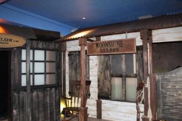 """""""outside"""" Moonshine Saloon in London"""
