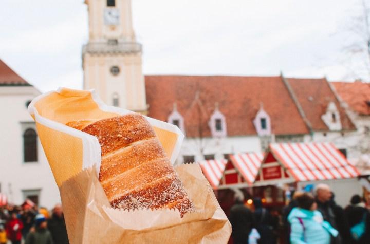 Food in the Bratislava Christmas Markets
