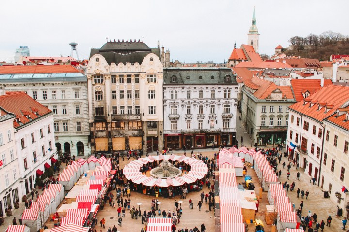 Main Square Bratislava Christmas Markets