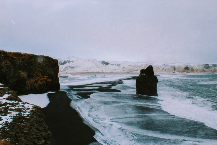 Black Sand Beach Iceland travel myths