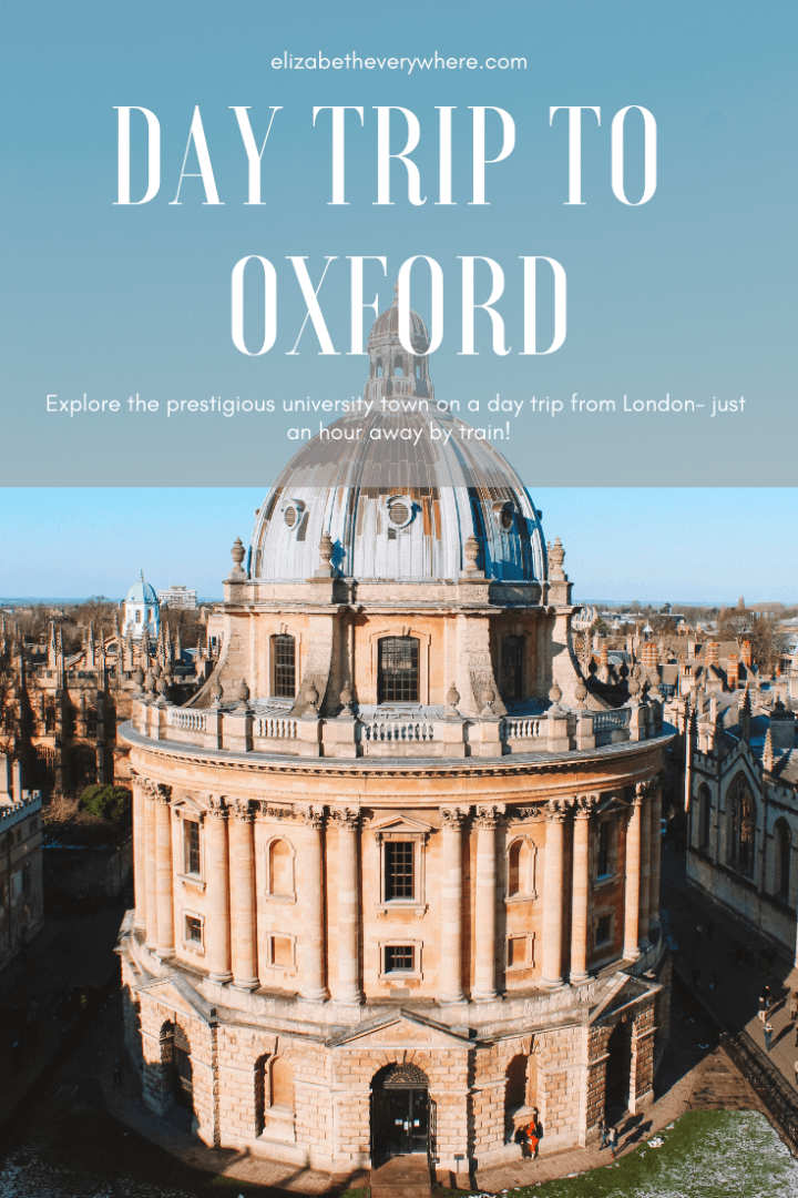 Day Trip to Oxford from London