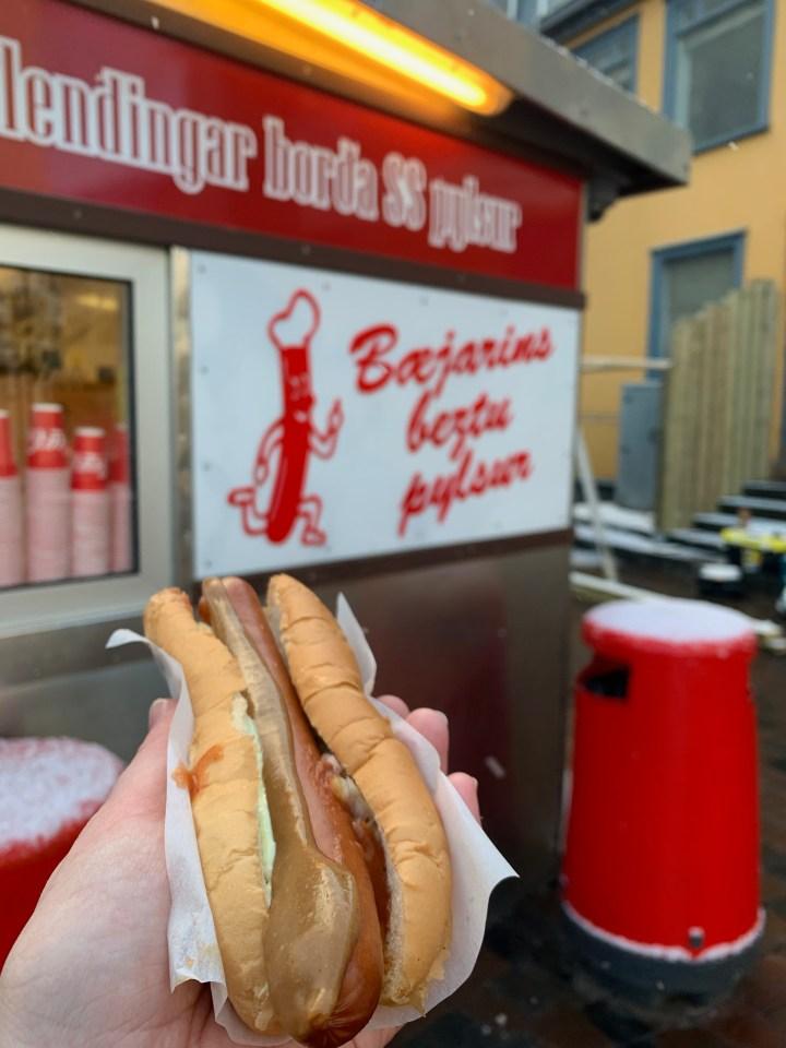 iceland hot dog