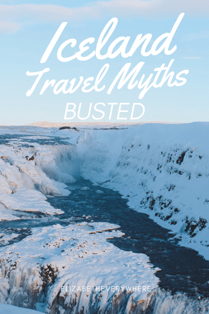 Iceland travel myths