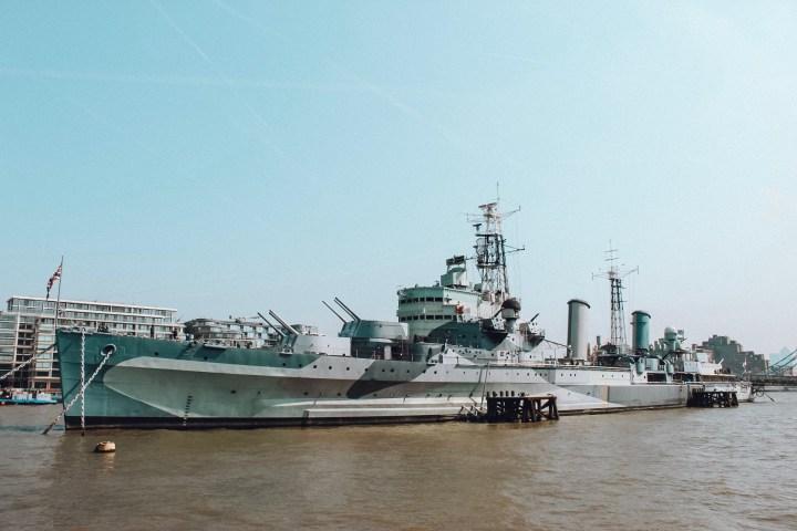 HMS Belfast things to do near london bridge station