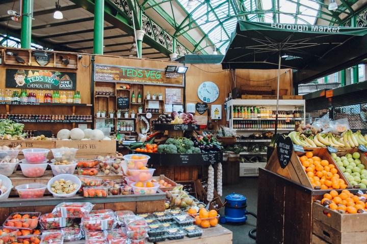 Inside Borough Market