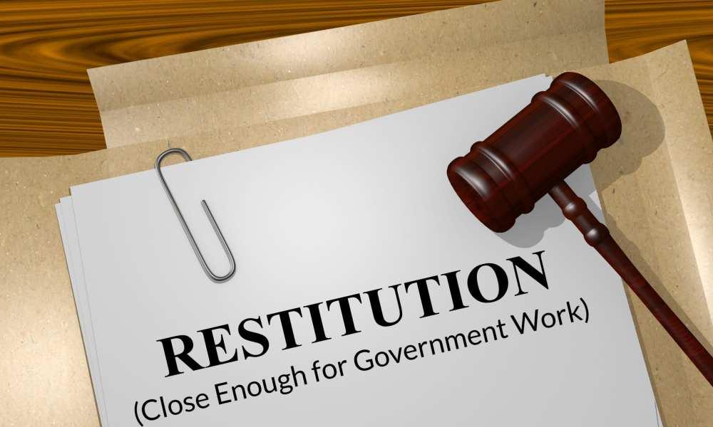 estimate of restitution