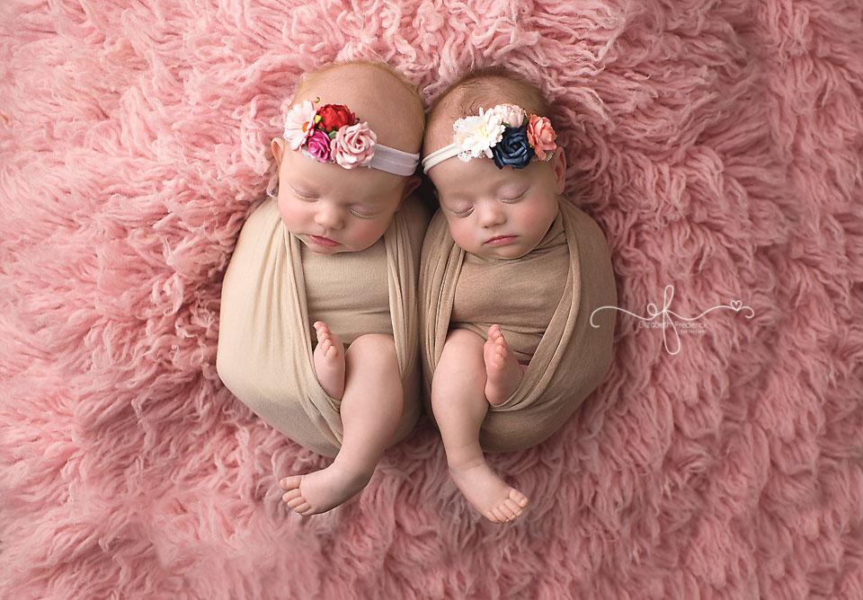 CT Newborn Photographer CT Twin Newborn Photographer Elizabeth Frederick Photography