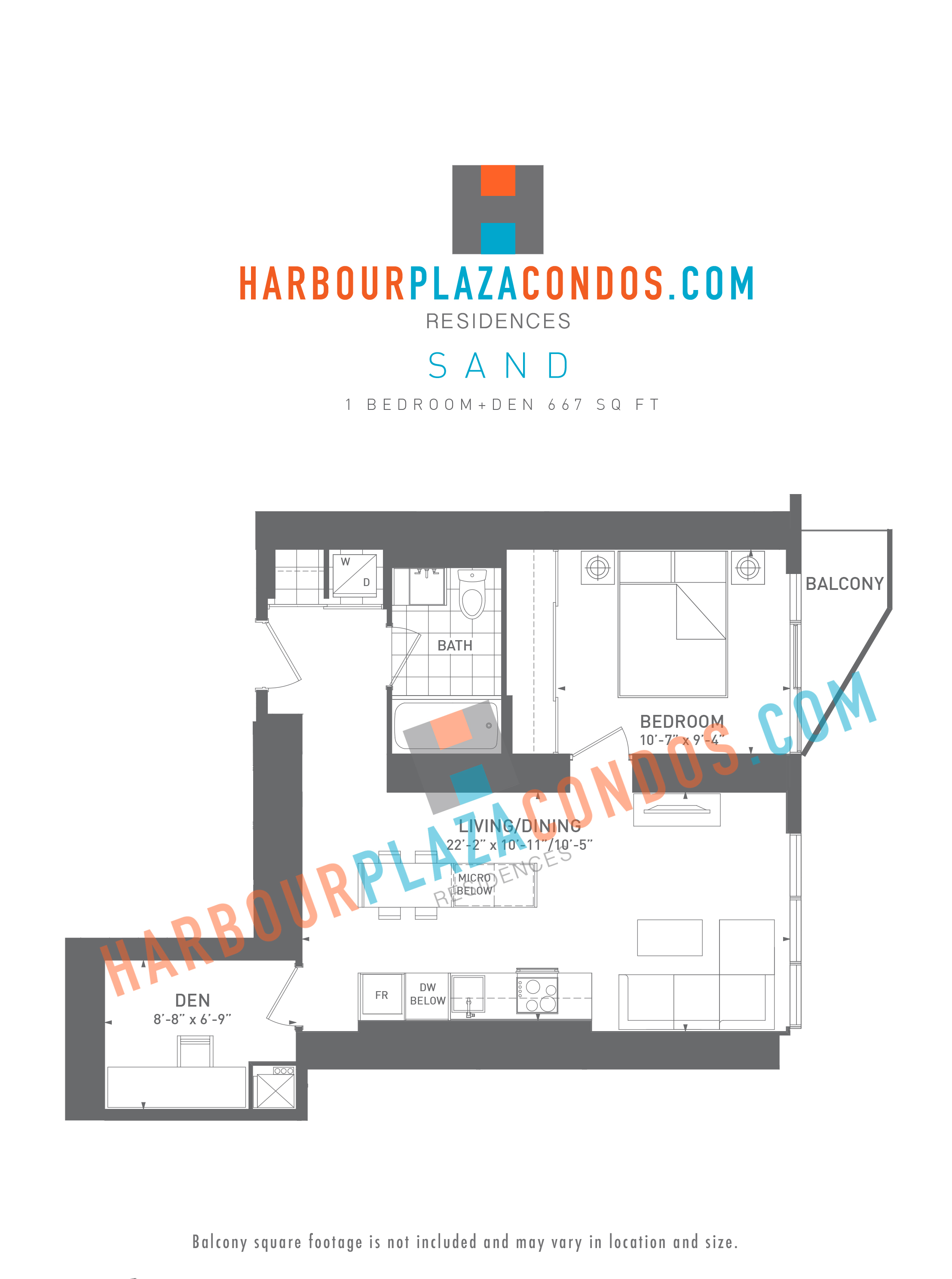 Queens Quay West Floor Plan