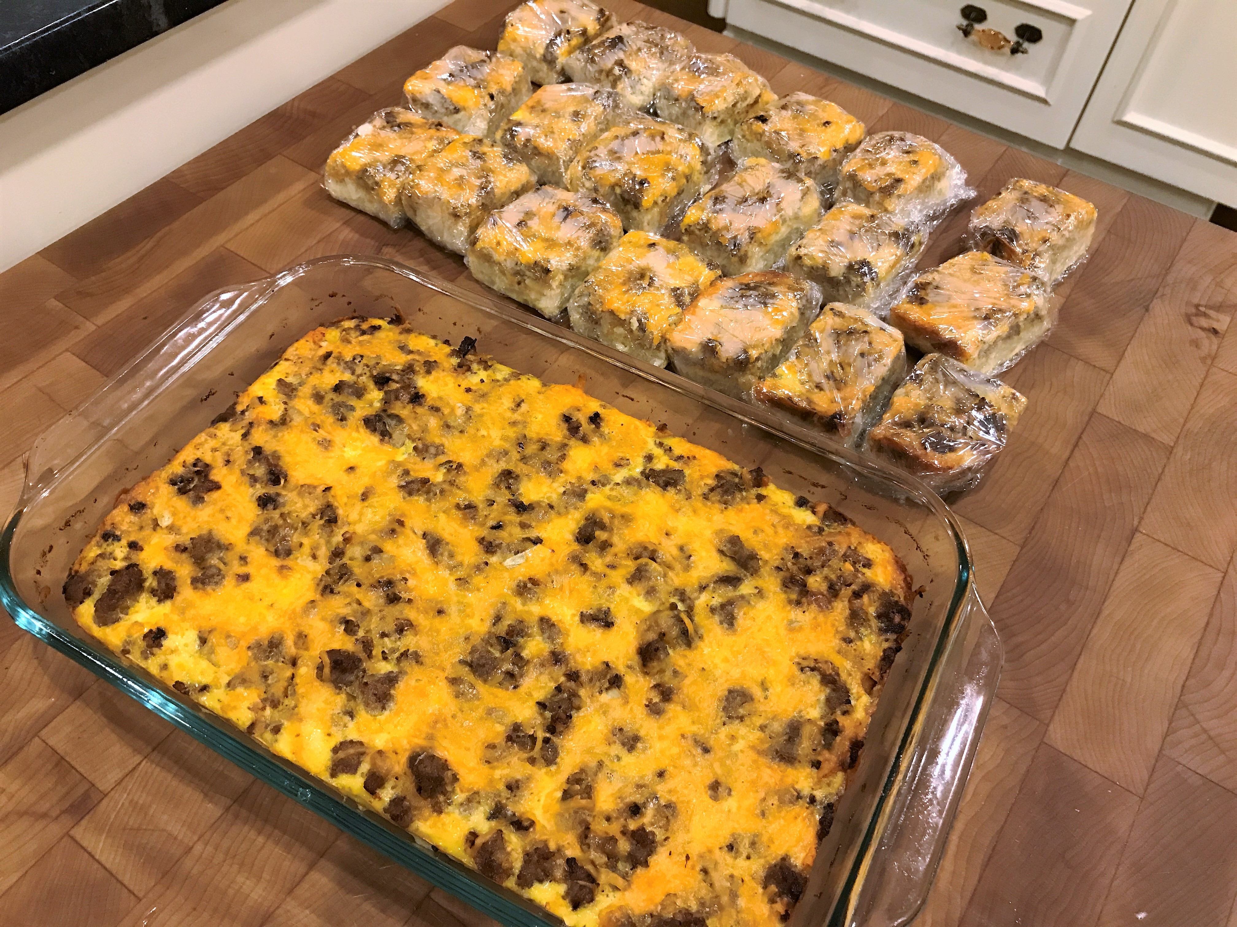 Make Ahead Egg Bake Casserole