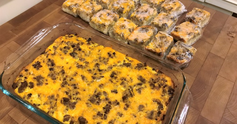 Make Ahead Egg Bake Casserole