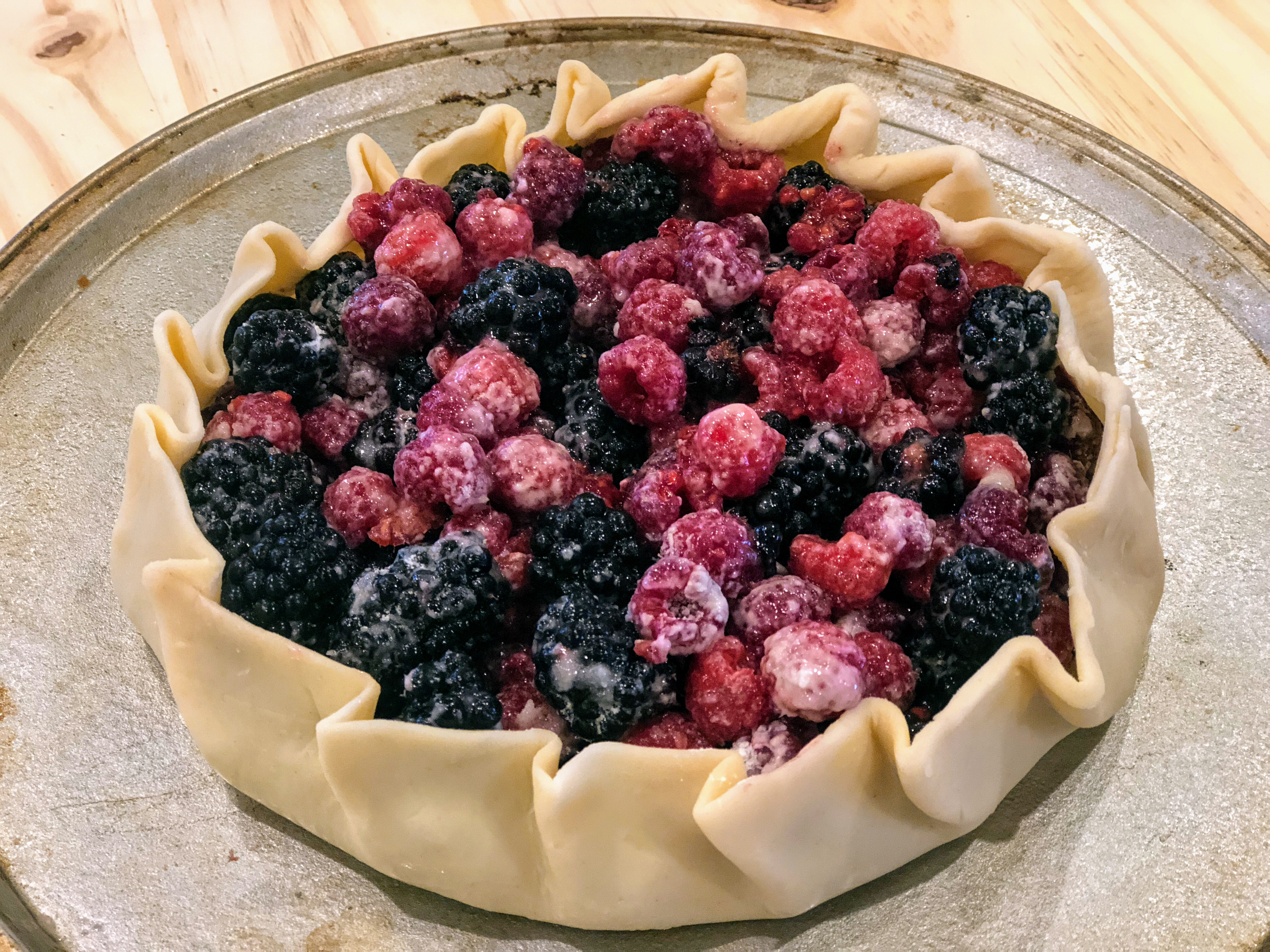 Easy Berry Galette