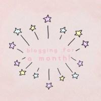 blogging for a month! | EG♡