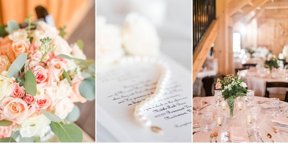 Blush and White Wedding, Athens GA Weddings