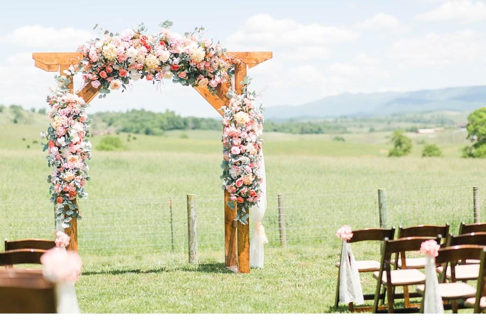 Summer Wedding Decor, Summer Ceremony Arches