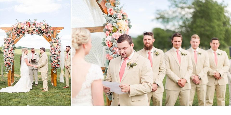 Summer Wedding Ceremony,