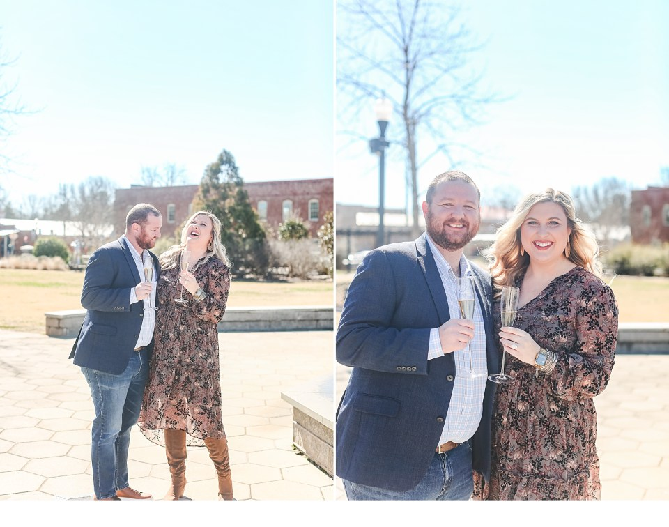 Winter Engagements, Engagements in North Georgia