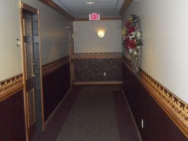 Elizabeth House Apartment entry.