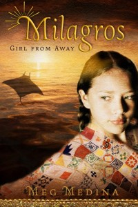 book cover for Milagros Girl From Away