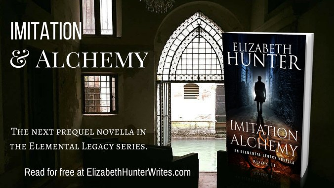 FREE fiction and a cover reveal for Imitation & Alchemy