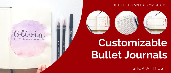 Customizable Hand-Drawn Bullet Journals