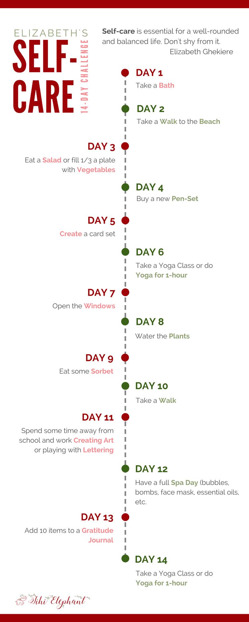 Elizabeth Self-Care 14-Day Challenge