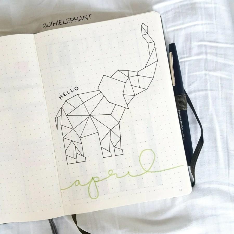april green elephant hello elizabeth