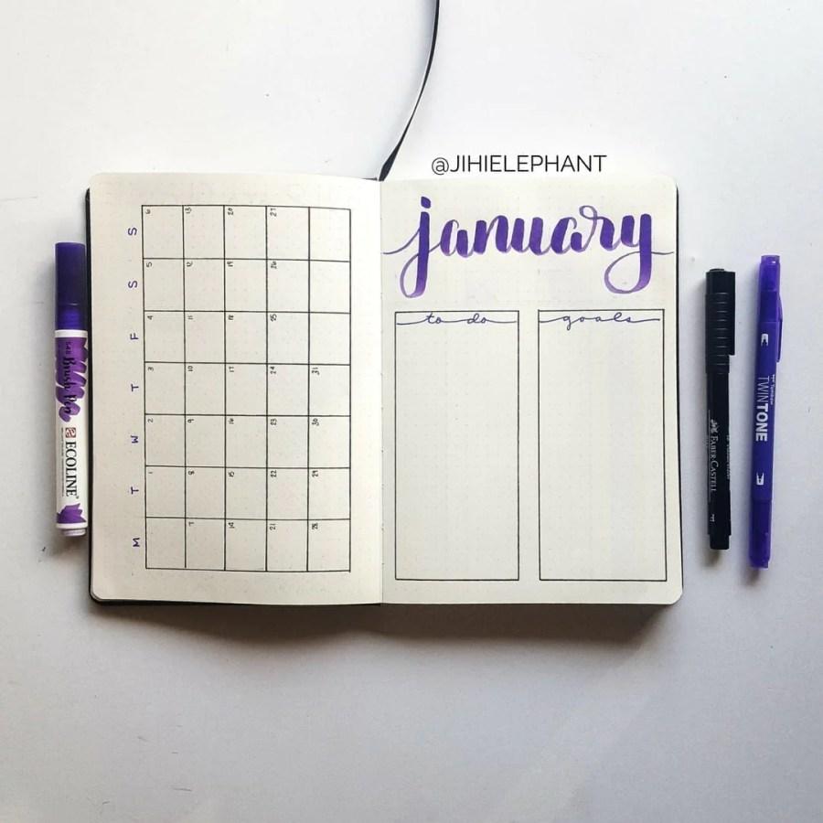 Madeline purple january month