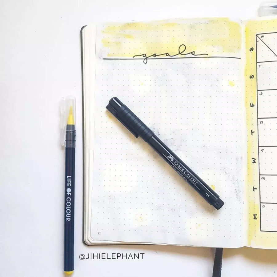 Ultimate Bullet Journal Layouts Glossary